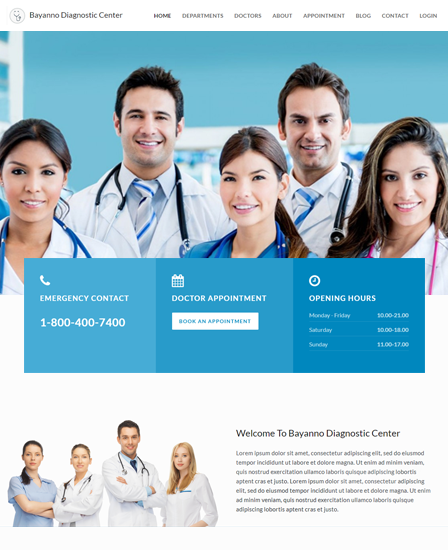 Hospital Management PHP Script