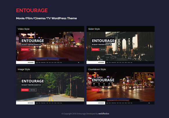 Entourage Homepage Styles