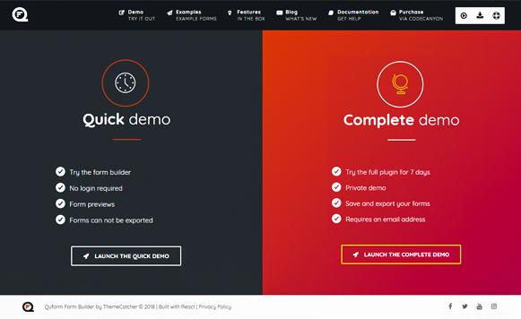 Demo - Quform WordPress Form Plugin