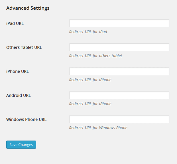 Redirect URL 3