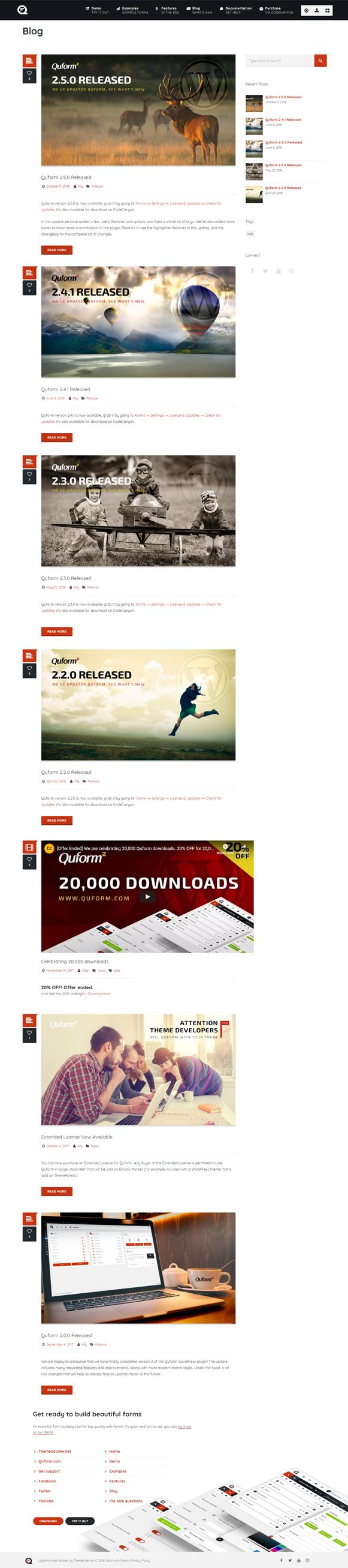 Blog - Quform WordPress Form Plugin