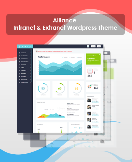 Alliance - Intranet & Extranet WordPress Theme | InkThemes