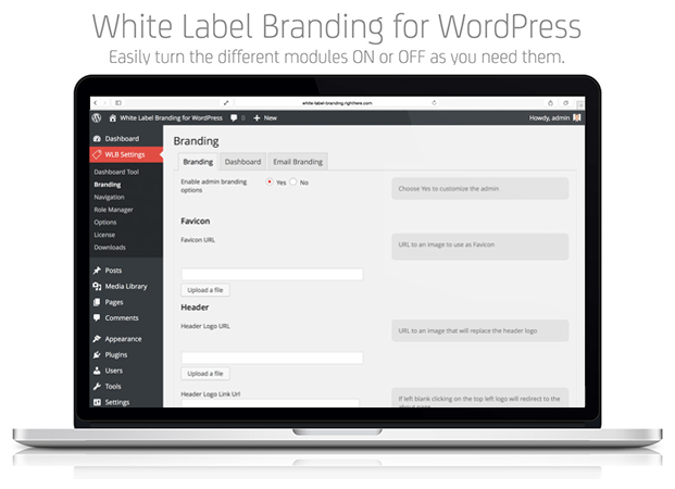 Branding - White Label Branding Plugin