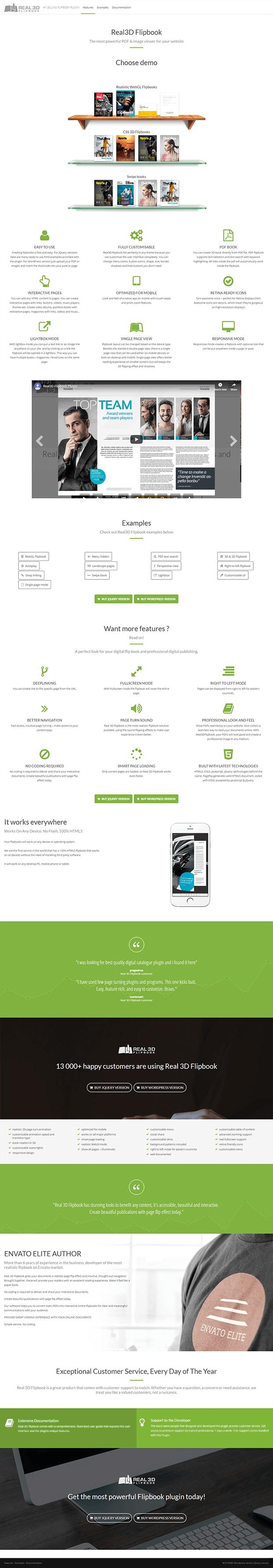 Real3D FlipBook Plugin - Home