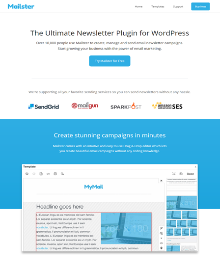 Mailster Newsletter WordPress Plugin