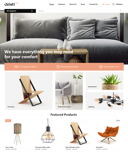 Ozisti Multi-Purpose WooCommerce WordPress Theme