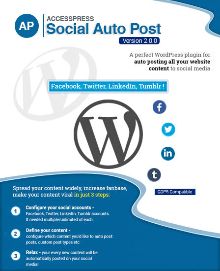 AccessPress Social Auto Post WordPress Plugin