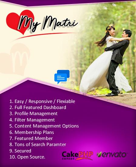 Matrimonial PHP Script