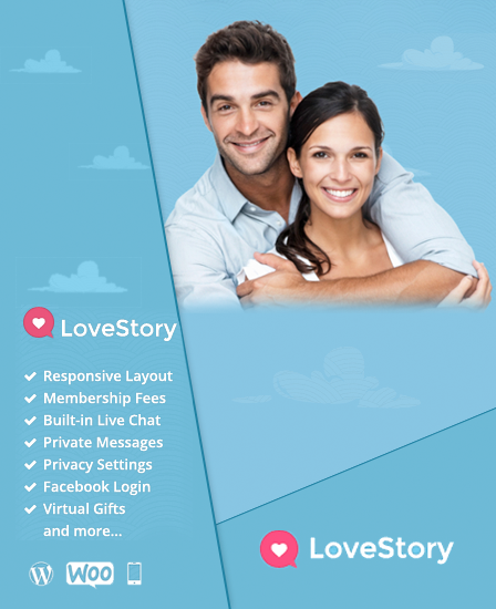 online dating wordpress theme