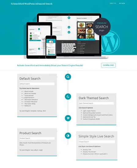 WordPress Search Plugin