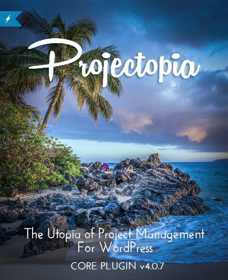 Projectopia Project Management WordPress Plugin