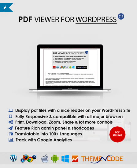 PDF Viewer WordPress Plugin