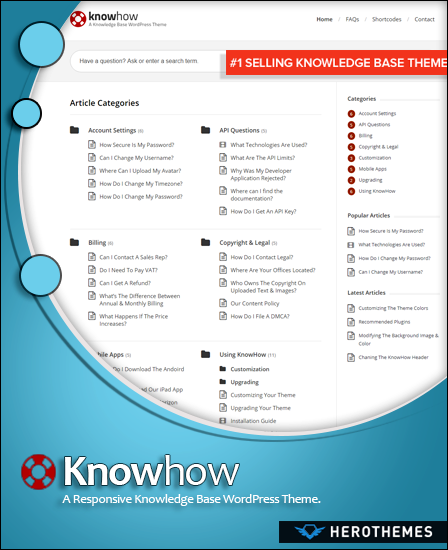 KnowHow knowledge base theme