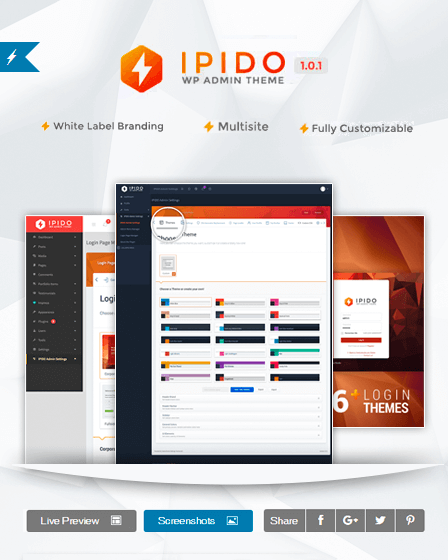 https://www.inkthemes.com/out/ipido-white-label-wordpress-admin-theme