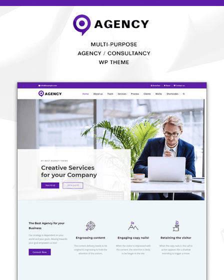 WordPress Theme For Agency