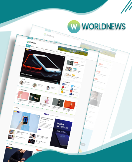 WorldNews Magazine WordPress theme