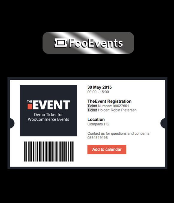 Event Ticket - FooEvents Event Ticket Plugin