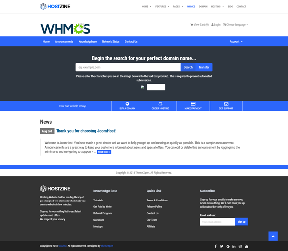 WHCMS