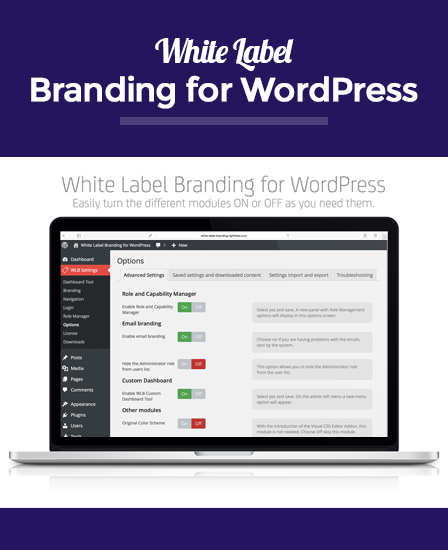 White Label WordPress Plugin