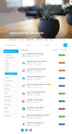 Job Listing - JobSearch WordPress Plugin