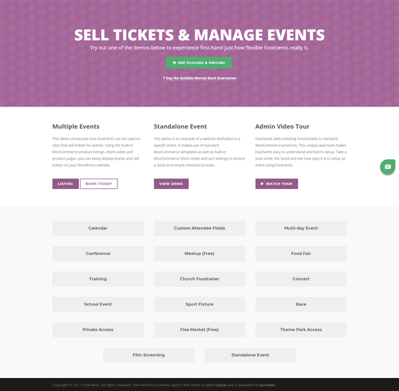 Home - FooEvents Event Ticket Plugin
