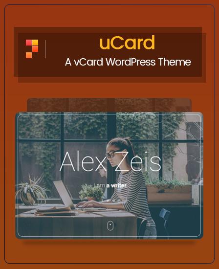 uCard WordPress Theme