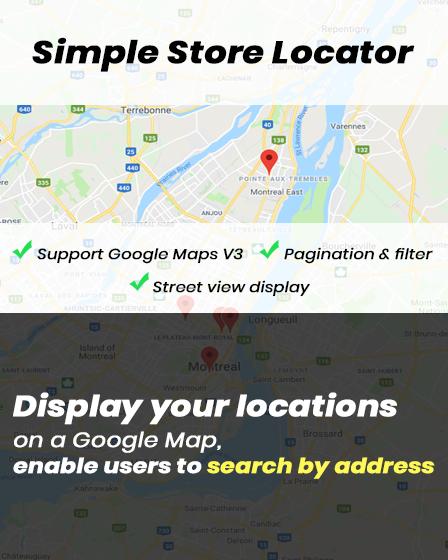 Simple Store Locator PHP Script
