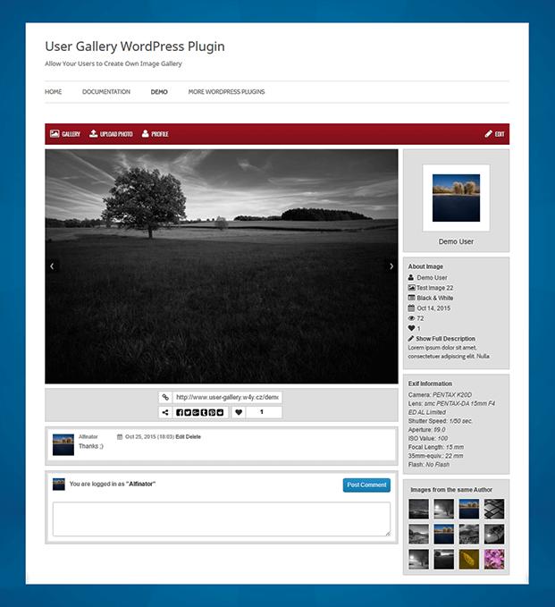 Image - WordPress Plugin For Gallery