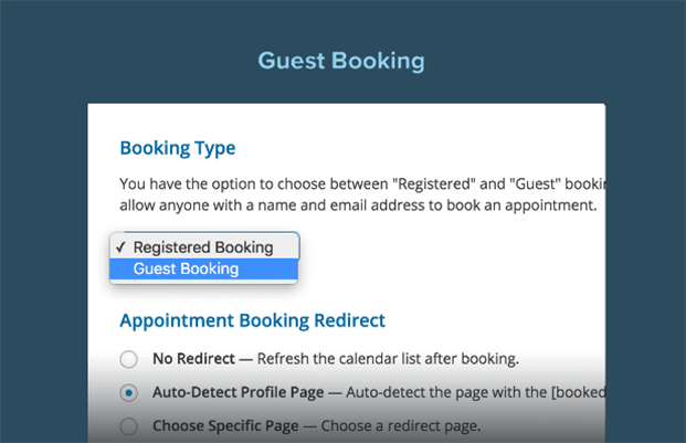 Guest Booking - Appointment Booking WordPress Plugin