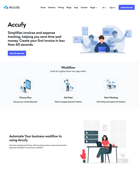 Accufy-INVOICING & ACCOUNTING PHP SCRIPT