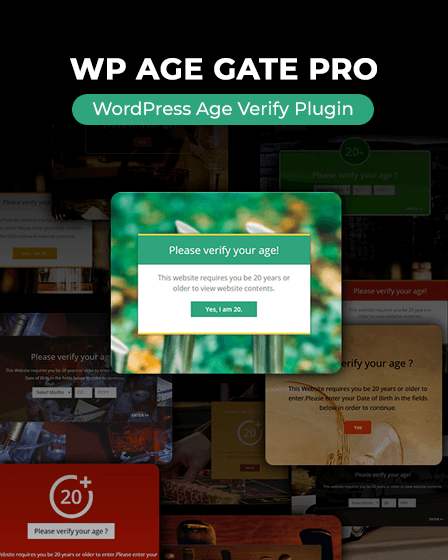 Age-verification WordPress Plugin