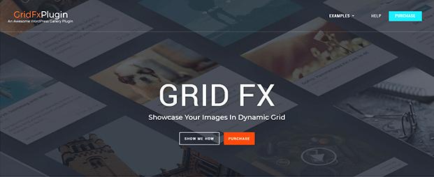 Grid FX WordPress Grid Plugin - Home