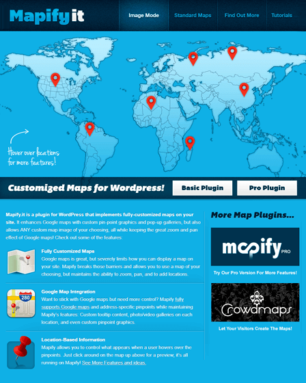 Mapify Google Map WordPress Plugin