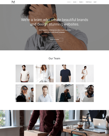 WordPress Theme For Freelancers