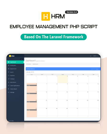 HRM - Employee Management PHP Script