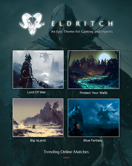 Eldritch - Gaming & eSports WordPress Theme