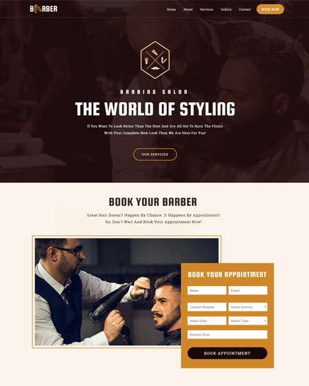 Thumb Image - WordPress Theme For Hair Salon