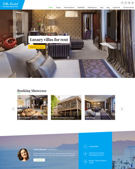 Property Rental WordPress Theme