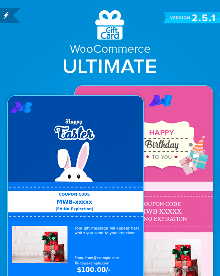 WooCommerce Gift Card Plugin