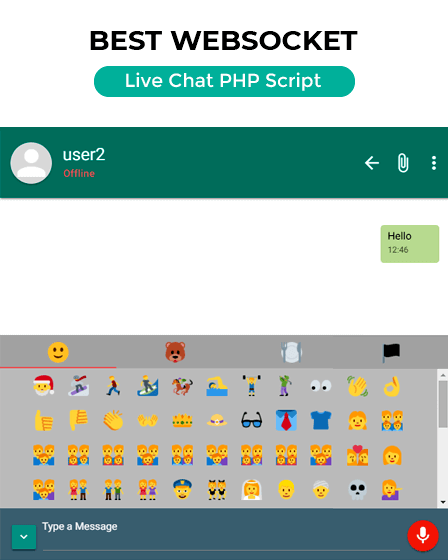 Best WebSocket Live Chat PHP Script