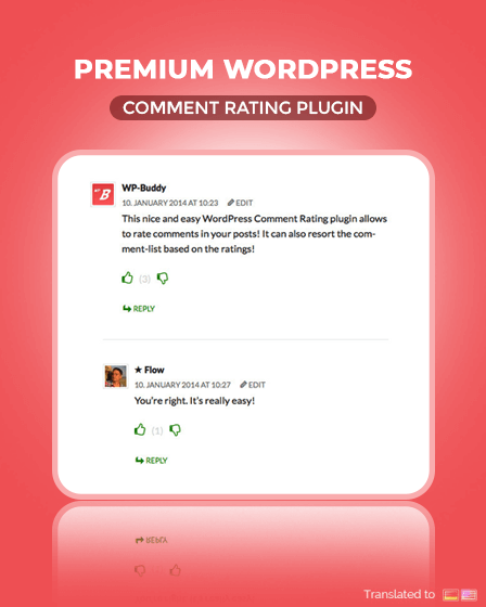 Premuim WordPress Comment Plugin