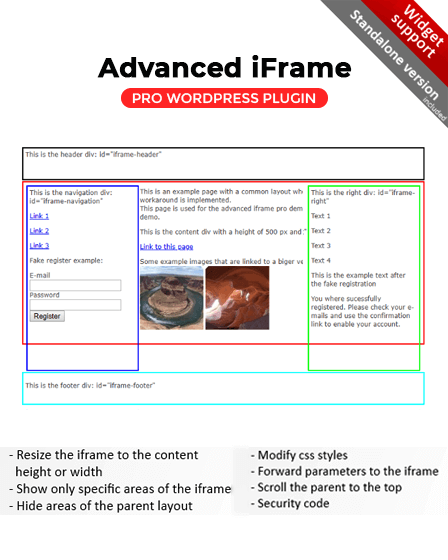 iFrame WordPress plugin