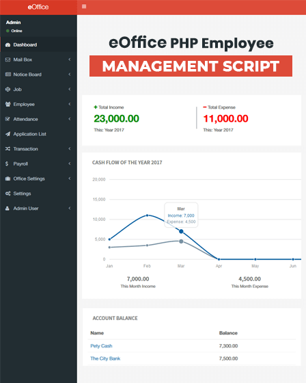 PHP Employee Management Script