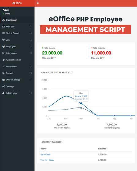 PHP Employee Management Script