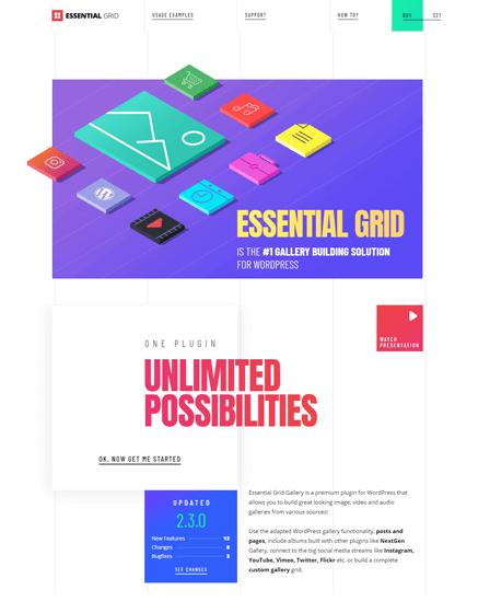 Essential Grid Image - Grid Gallery WordPress Plugin