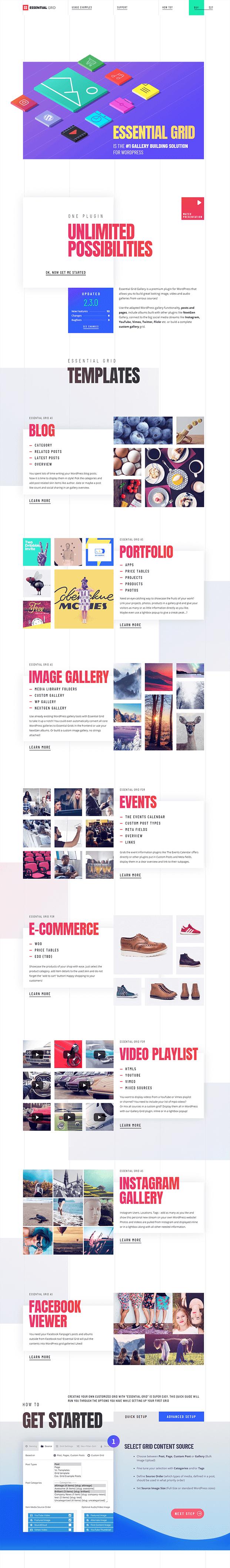 Grid Gallery - Grid Gallery WordPress Plugin