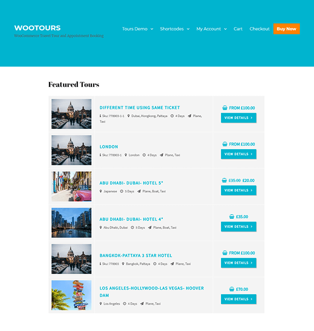 Travel Booking WordPress Plugin - featured-tour