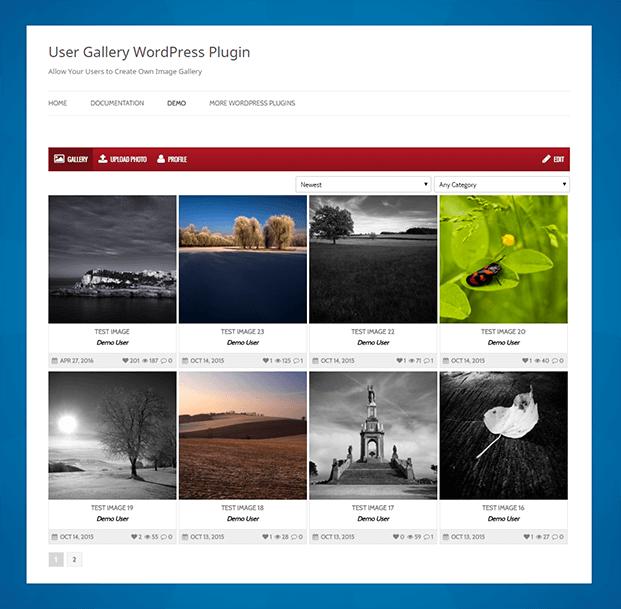 Gallery -  WordPress Plugin For Gallery