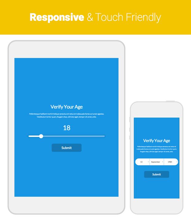 Responsive - Age Verification Plugin For WordPress