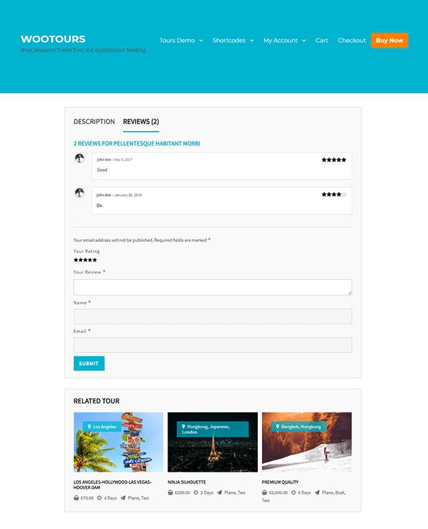 Travel Booking WordPress Plugin - review